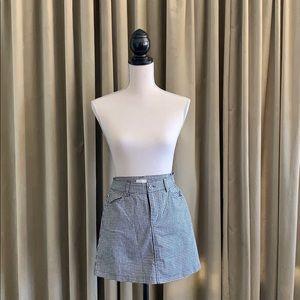 Brandy Melville/John Galt Black White mini skirt